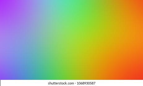 Rainbow Glass Background