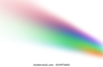 rainbow gradient on white background. colorful textured creative abstract for banner, wallpaper, backdrop, etc. illustration of fun and cheerful vibes for overlay photo lighting.