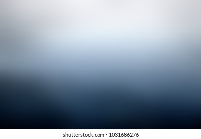 Rainy sky empty background. Grey blue dark cloudy abstract texture. Bad wither blurred pattern. Dim defocused template.