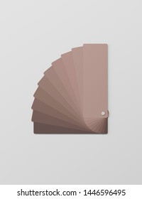 RAL palette, color palette for design on black background