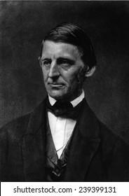 Ralph Waldo Emerson (1803-82) American writer who espoused Transcendentalism.