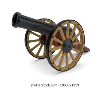 ramadan cannon. 3d illustration