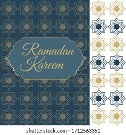 Ramadan Card with simple design