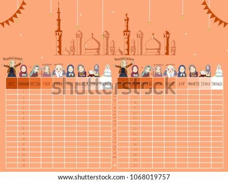 ramadhan ramadan calendar checklist goal ramadan calendar 2018