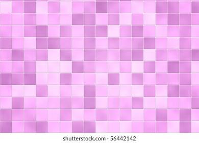 Random Pink Bathroom Tile