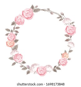 Ranunculus rose flower weath imge