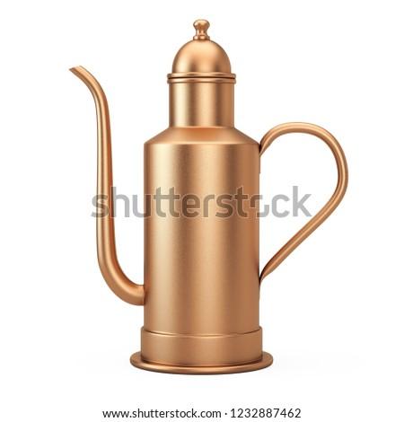 Rare Antique Brass Cooper