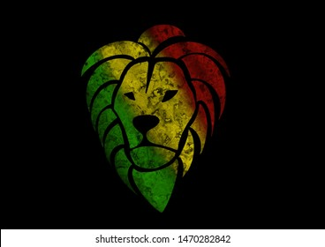 Rastafarian Lion Images Stock Photos Vectors Shutterstock Check out our rasta lion selection for the very best in unique or custom, handmade pieces from our face masks & coverings shops. https www shutterstock com image illustration rasta lion marble texture background 1470282842