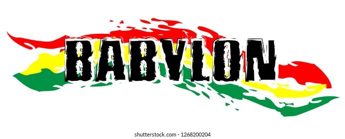 Rasta Symbol -Babylon System