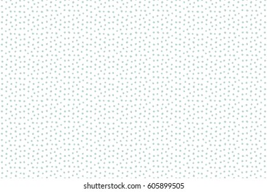 Raster flower miniprint seamless pattern in neutral and blue colors on a white background. Stylized hand drawn little flowers.
