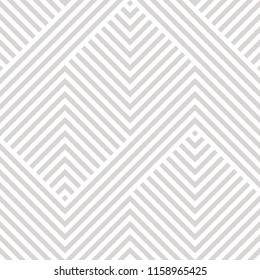 Raster geometric seamless pattern. Modern texture with lines, stripes. Simple abstract geometry graphic design. Subtle minimalist white and gray background. Design for wallpapers, prints, carpet, wrap
