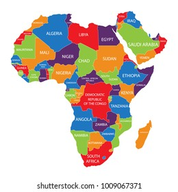 African Countries Images, Stock Photos & Vectors | Shutterstock