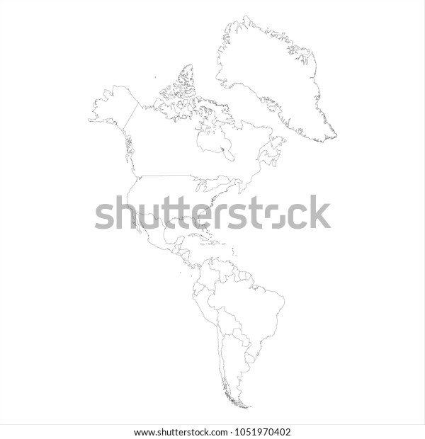 Raster Illustration Map South North America Stock ... on map of america map, drawing mexico map, united states of america map, drawing canada map, drawing france map,