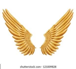 raster version of golden wings