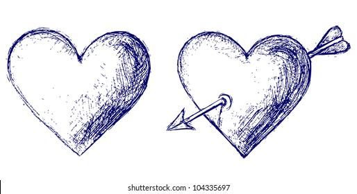 Raster version. Heart