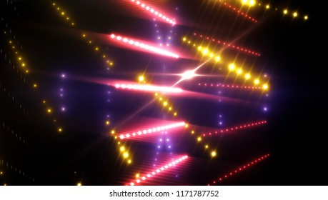 rays of light background. abstract blue. illustration digital.