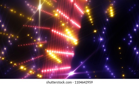 rays of light background. abstract multicolored. illustration digital.