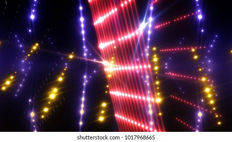 rays of light background. abstract neon. illustration digital.