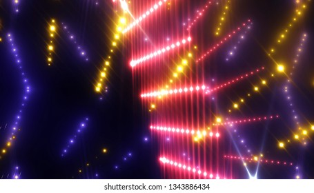 rays of light background. abstract pink. illustration digital.