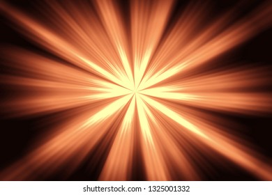 Rays of the sun.Abstract background