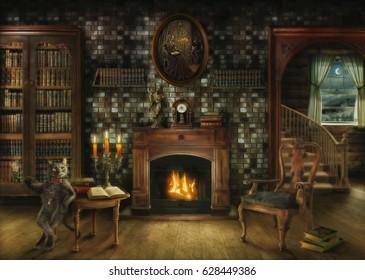 readings books cozy winter evening