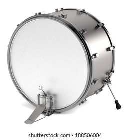 realistic 3d render of drum