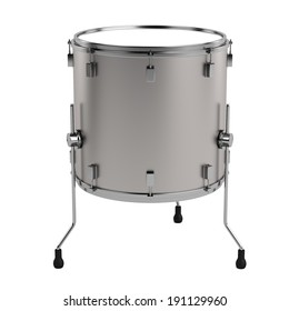 realistic 3d render of drum