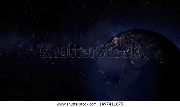 realistic 3d rendering earth night 600w 1497411875
