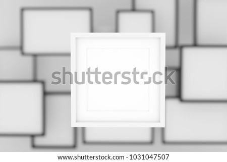 Royalty Free Stock Illustration of Realistic Blank Picture Frame ...