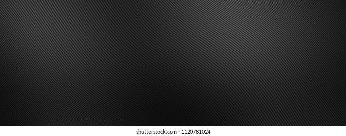 Realistic illustration of a carbon texture