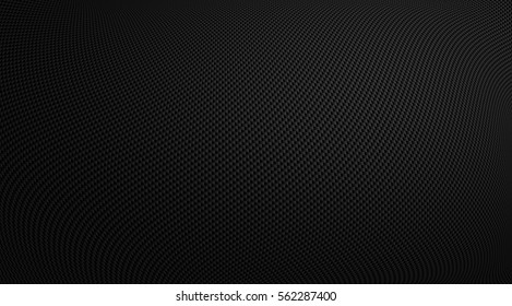 Realistic illustration of a carbon texture for background