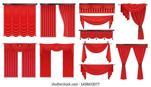 Red Curtain Images, Stock Photos & Vectors   Shutterstock