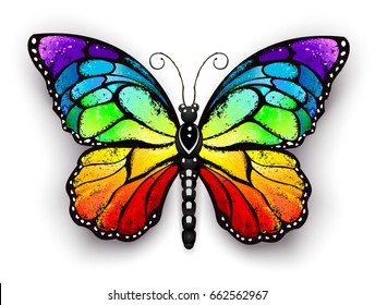 Colorful Butterfly Drawing Images Stock Photos Vectors Shutterstock