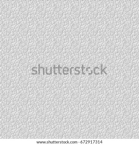 Realistic Seamless Leather Texture White Background