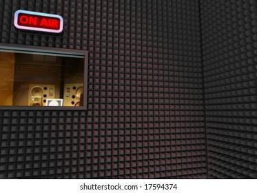 RECORDING STUDIO BACKGROUND