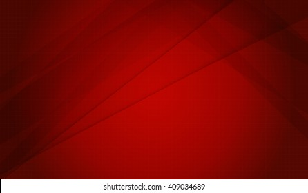 Red abstract Background Illustrated graphics with lighting lines