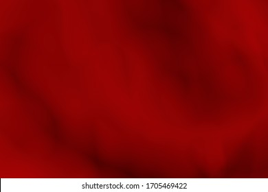 Red background  with abstract blurry in human body. 3D rendering