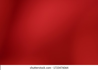 Red background abstract pattern texture defocused and Falling stars. Winter Card or invitation