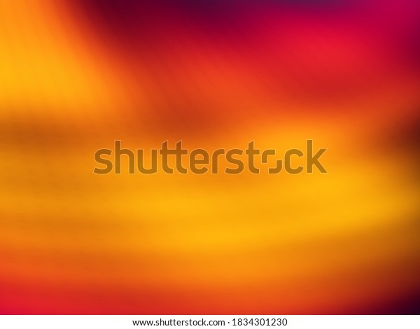 Red background abstract planet art illustration
