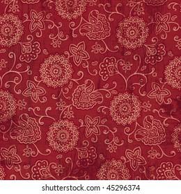 Red bandana fabric