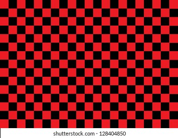 Red and Black Squares