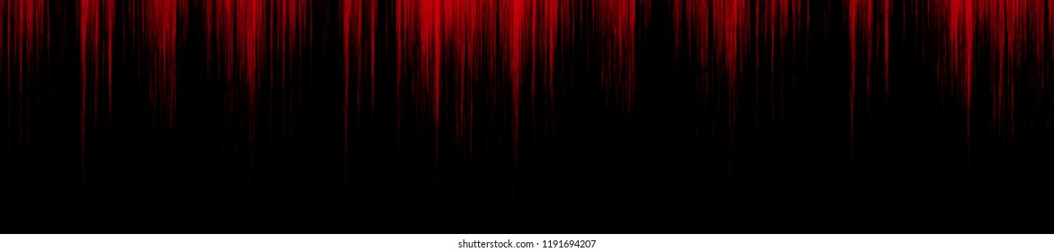 red blood dripping down a black wall