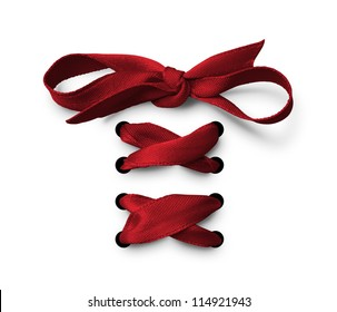 Red  bow tied up