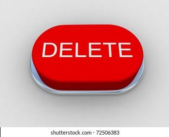 """Red button """"DELETE"""""""