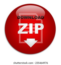 Red button download file ZIP