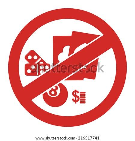 No gambling sign resorts casino in atlantic city