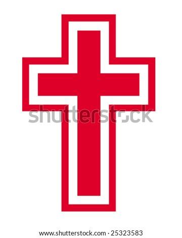 Red Cross Symbol Stock Illustration 25323583 Shutterstock