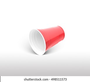 Red Cup Drink 3d Illustration