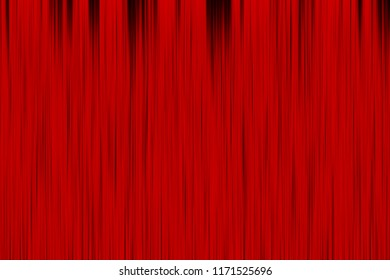 Red curtain background, illustration.