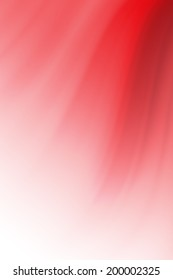 red curve abstract background